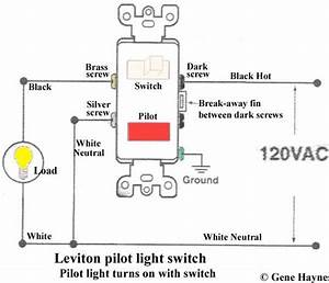 Leviton Light Switch Wiring Instructions