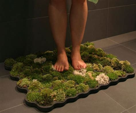 living moss bath mat 20 stunning green products that are inspired by nature green diary green revolution guide by