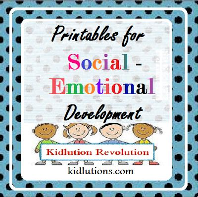 social activities for preschoolers printables for social emotional development 200