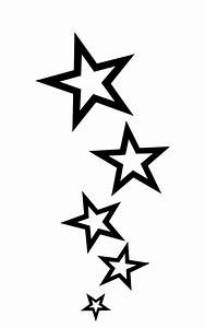 Make your own Star Tattoo Stencil. Hit the image for the ...