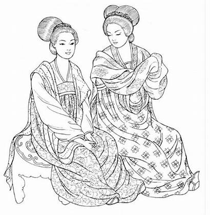 Chinese Tang Clothing Dynasty Traditional Imperial China