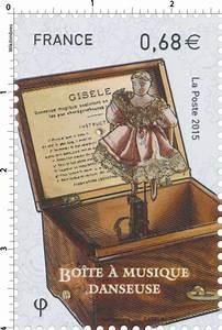 Boite à Musique Danseuse : timbre 2015 bo te musique danseuse wikitimbres ~ Teatrodelosmanantiales.com Idées de Décoration