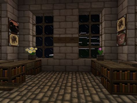 town hall interior minecraft builds pinterest