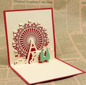 Aliexpress Buy Birthday t cards Sky Wheel