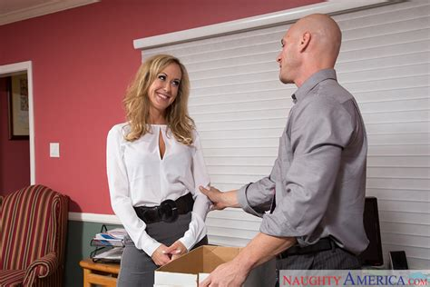 Brandi Love & Johnny Sins in Naughty Office - Naughty America HD Porn Videos