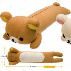 rilakkuma body pillow for sale by dinofama on deviantart With body pillows for sale