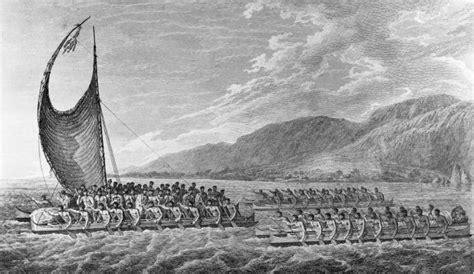 Moana Ancestor Boat by Māori Migration Canoes