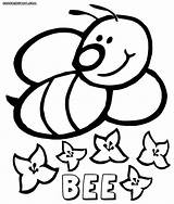 Bee Coloring Pages Colorings Coloringway sketch template