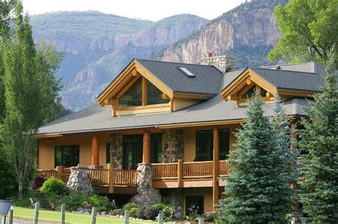 Luxury Mountain Log Home Plans