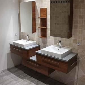 Armoire Pour Salle De Bain : meuble de salle de bain meubles avec grands rangements atlantic bain ~ Teatrodelosmanantiales.com Idées de Décoration