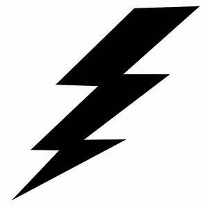 Black And White Lightning Bolt - ClipArt Best