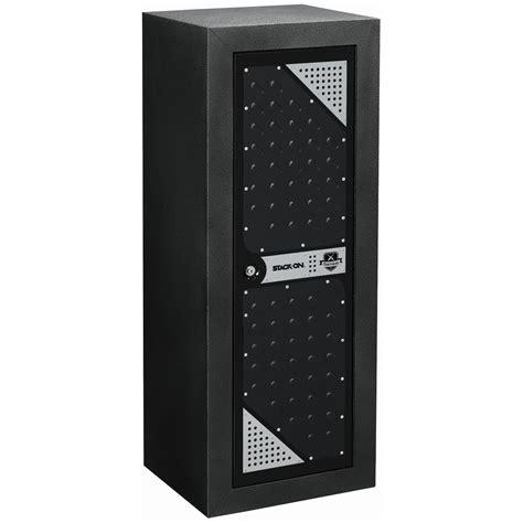 stack on gun cabinet shelves stack on tactical security cabinet black hammertone
