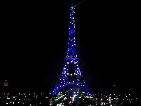 torre eiffel illuminata torre eiffel illuminata parigi 2008