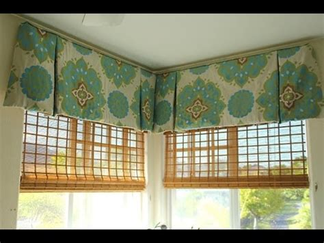 Contemporary Valances by How To Make A Modern Valance My Web Value