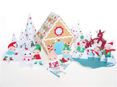 printable christmas cutouts and decorations deck the house with the coolest printables