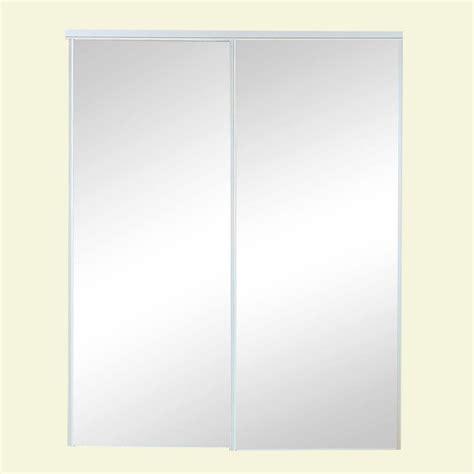truporte 60 in x 80 in 120 series steel mirror sliding