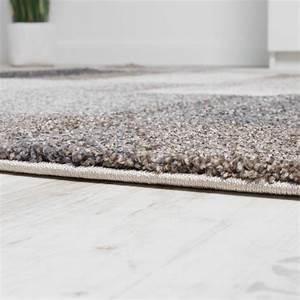 Moderne Teppiche Günstig : teppich meliert modern webteppich hochwertig kariert beige ~ Lateststills.com Haus und Dekorationen