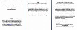 apa paper template in word doc format 94xrocks With apa format for papers template