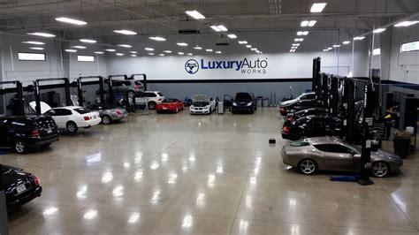 mercedes repair by luxury auto works in tx