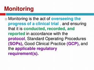 monitoring and auditing in clinical trials With clinical research monitor