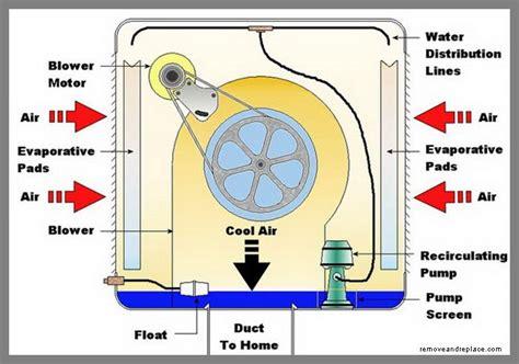 How Does Evaporative Cooler Swamp Work Diy