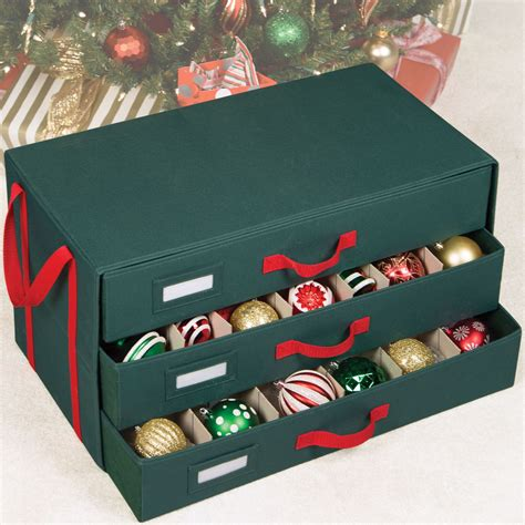 christmas ornament storage ideas