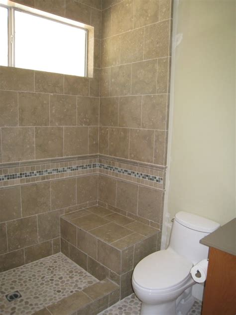 bathroom tile ideas 2014 bathroom beauteous picture of bathroom decoration using shower stall seats including travertine