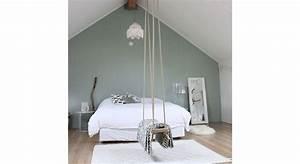 Peinture Vert De Gris : peinture vert de gris tendance maison travaux ~ Melissatoandfro.com Idées de Décoration