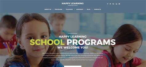 Top 10 School Website Templates by Top 10 Exles Of Best Education Website Design