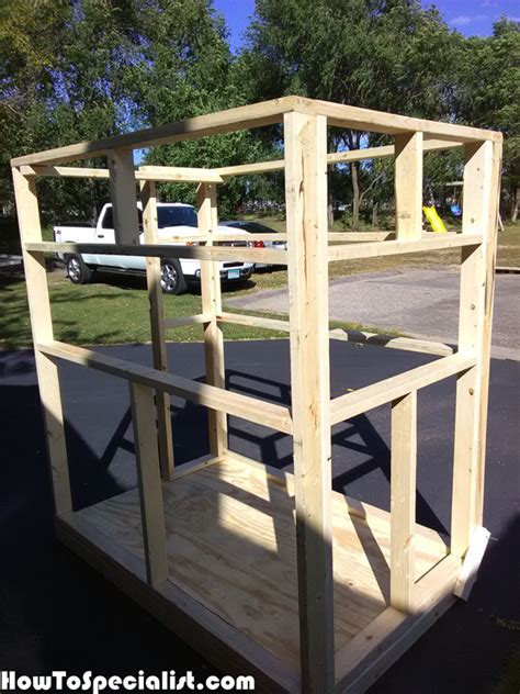 We would like to show you a description here but the site won't allow us. DIY 4×6 Shooting Stand | Shooting house, Deer hunting ...