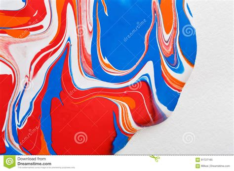 liquid marbling acrylic paint background fluid painting