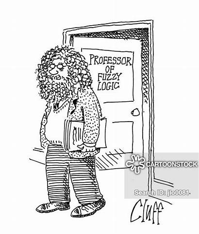 Fuzzy Logic Theory Cartoon Cartoons Cartoonstock Professor