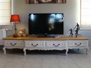 Meuble Style Louis Xv : meuble tv style louis xv etudiantsavecsarkozy ~ Dallasstarsshop.com Idées de Décoration
