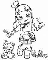Ruby Coloring Pages Choco Rainbow Little Printable Coloringpagesfortoddlers Lovely Print Teen Animation Disimpan Dari sketch template