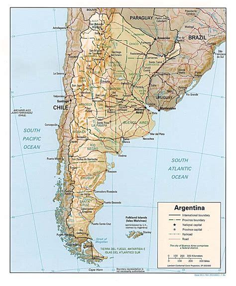 Landkarte Argentinien - Landkarten download ...