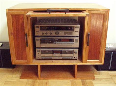 plans  stereo cabinet  woodworking