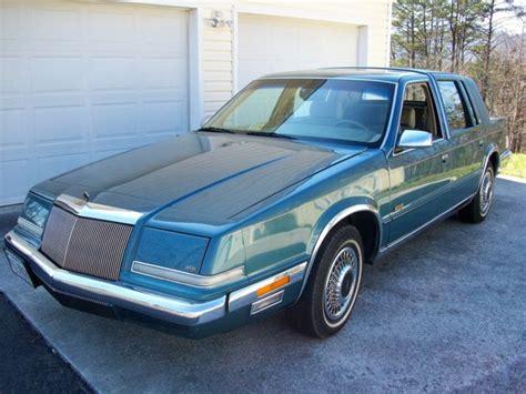 1993 Chrysler Imperial by 1993 Chrysler Imperial 1 Owner 91k Always Garaged From