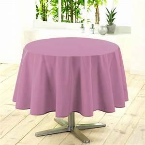 Nappe Rose Poudré : nappe ronde d180 cm gamme essentiel rose poudr nappe de table eminza ~ Teatrodelosmanantiales.com Idées de Décoration