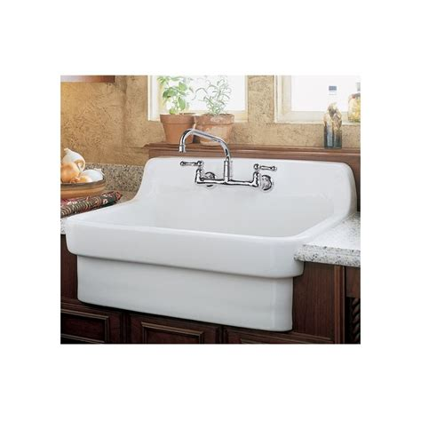 kitchen sink china faucet 9062 008 020 in white by american standard 2615
