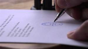 Stamping and signing a document in slow motion free hd for Documents hd images