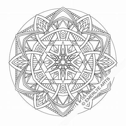 Mandala Coloring Pages Adult Printable Mandalas Lotus