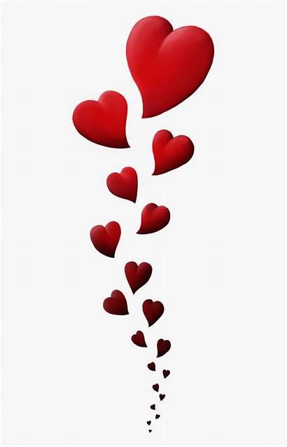 Hearts Clip Heart Vertical Clipart Dance Transparent