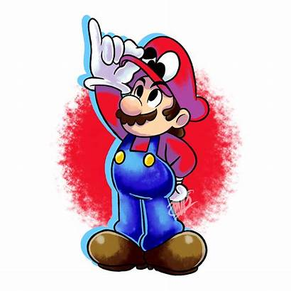 Mario Fanart Odyssey Super Vr Deviantart Luigi