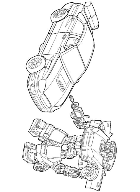 Coloring Transformer by Transformers Coloring Pages Free Printable Coloring
