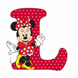 991 best mickey e minnie iii images on pinterest With minnie mouse alphabet letters