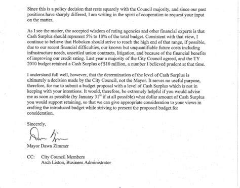 cc  letter sample sample business letter