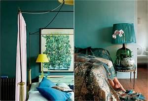 Bleu Canard Se Marie Avec Quelle Couleur : chambre bleu canard avec quelle couleur accords classe ~ Zukunftsfamilie.com Idées de Décoration