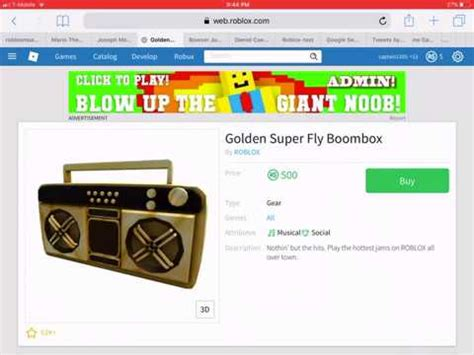 golden boombox code youtube