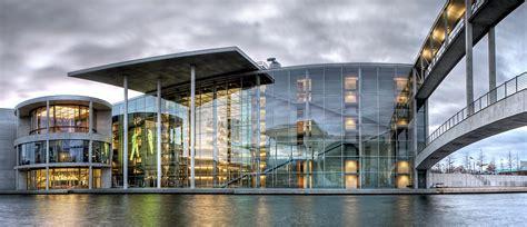 Berlin Mitte  Paul Löbe Haus Foto & Bild Architektur