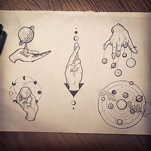 25+ best ideas about Space Tattoos on Pinterest | Planet ...